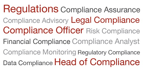 Compliance Job titles